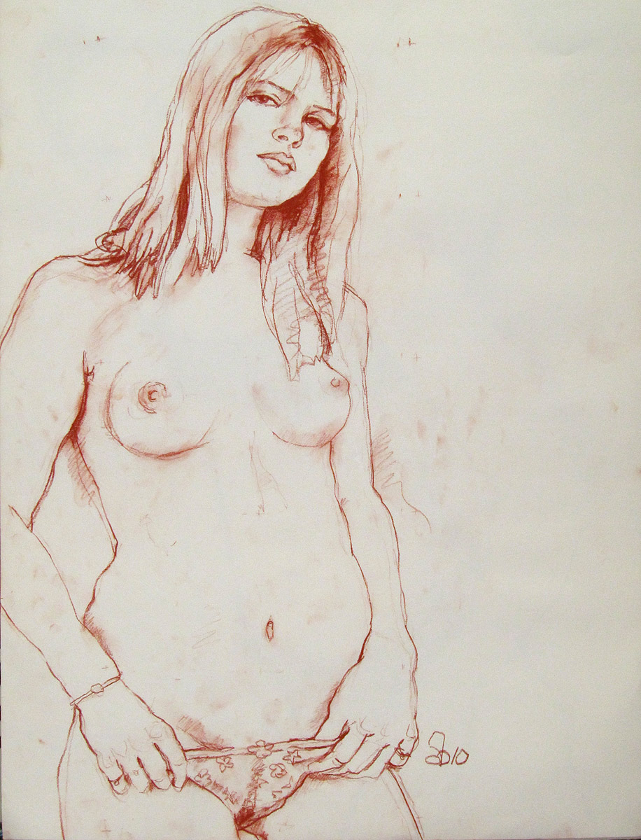 drawing of hot naked girls